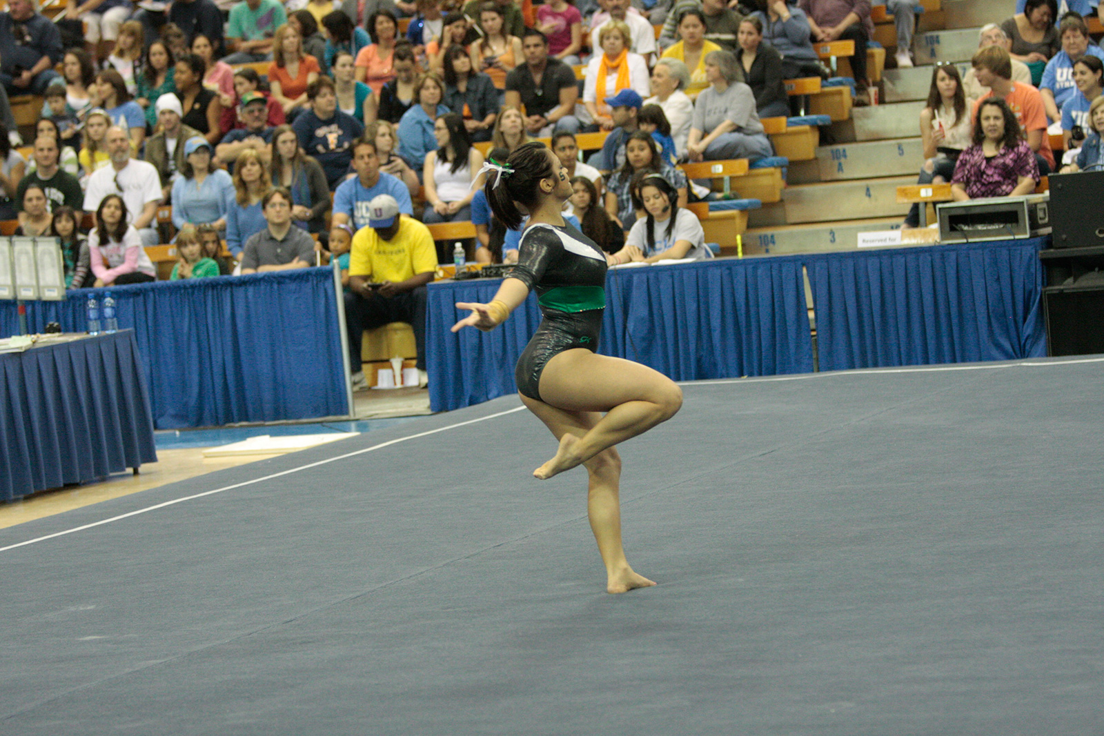 construction of a level 9 floor routine